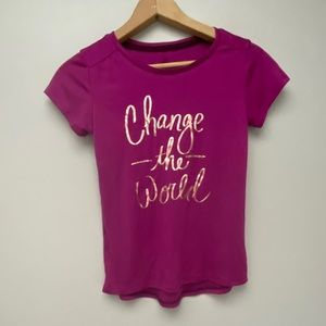 Change the world graphic t-shirt medium